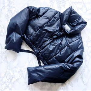 Vintage GAP Cropped Puffer Jacket Size M EUC